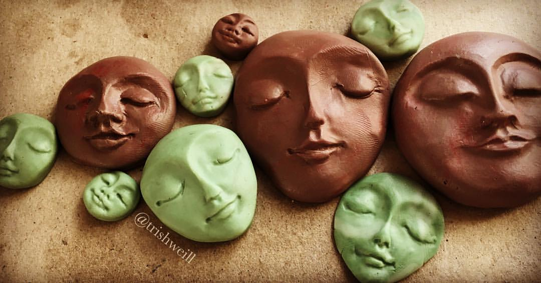 planting seeds of polyclay