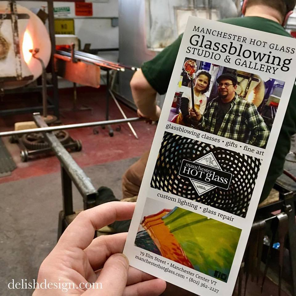 Manchester Hot Glass Brochure